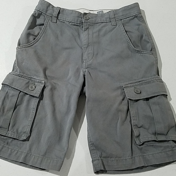 Old Navy Other - Old Navy boys 12 gray cargo shorts